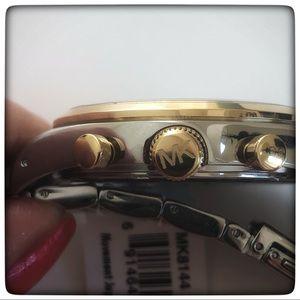 Michael Kors Accessories - Michael Kors Mens MK-8144 Runway Watch NWT